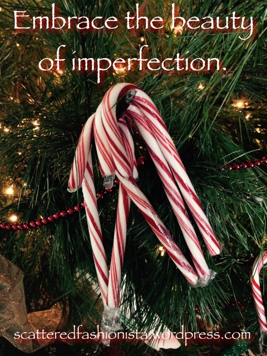 Beauty of imperfection on scatteredfashionista.com